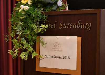 Stifterforum 2018 in Riesenbeck, Foto: Mark Gr. Feldhaus
