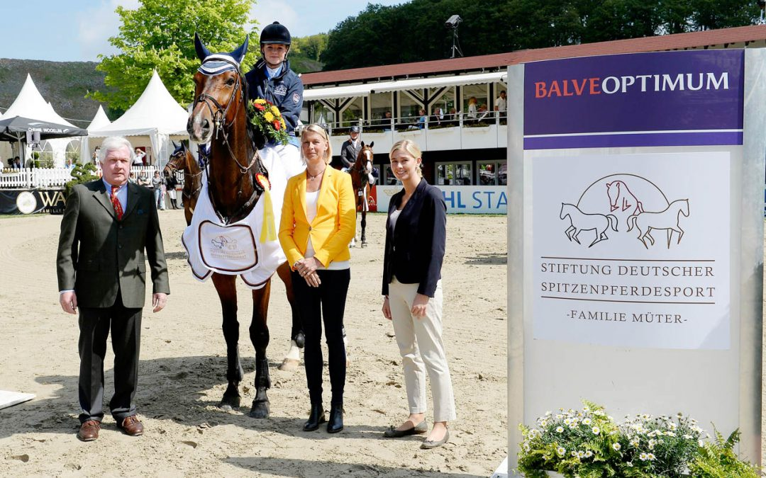 Balve Optimum International: Vanessa Borgmann im Siegerinterview