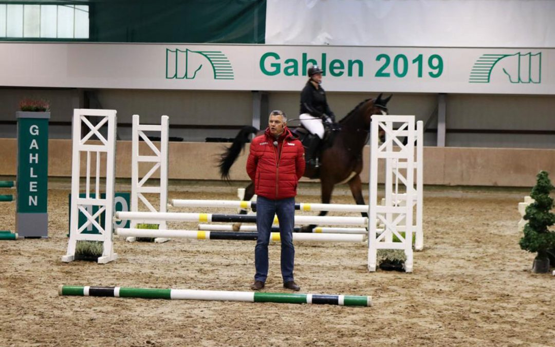 Bundestrainertag 2019: Cheftrainer Otto Becker in Gahlen