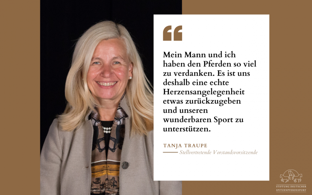 Tanja Traupe im Interview